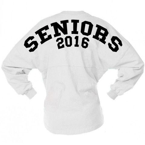 Seniors 2016 Spirit Jersey – TeesAndTankYou