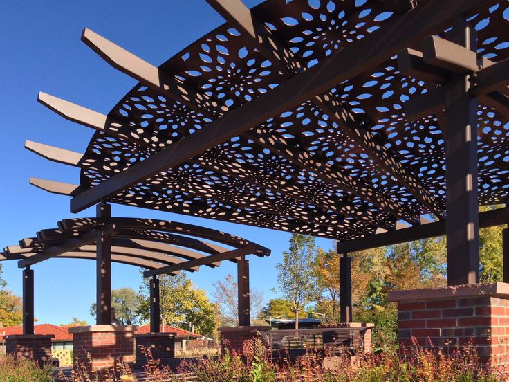 7 best parasoleil parks gardens images on pinterest for Metal sun shade structures