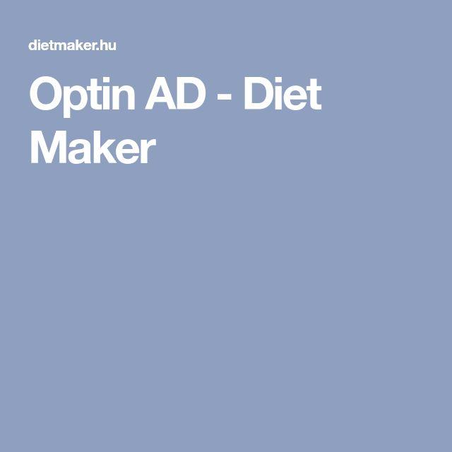 Optin AD - Diet Maker