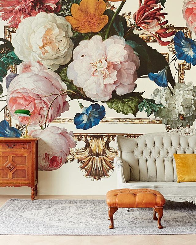 Vintage-inspired florals and large scale murals, Antiquity merges two of 2016's…