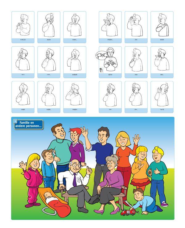 gebarentaal familie