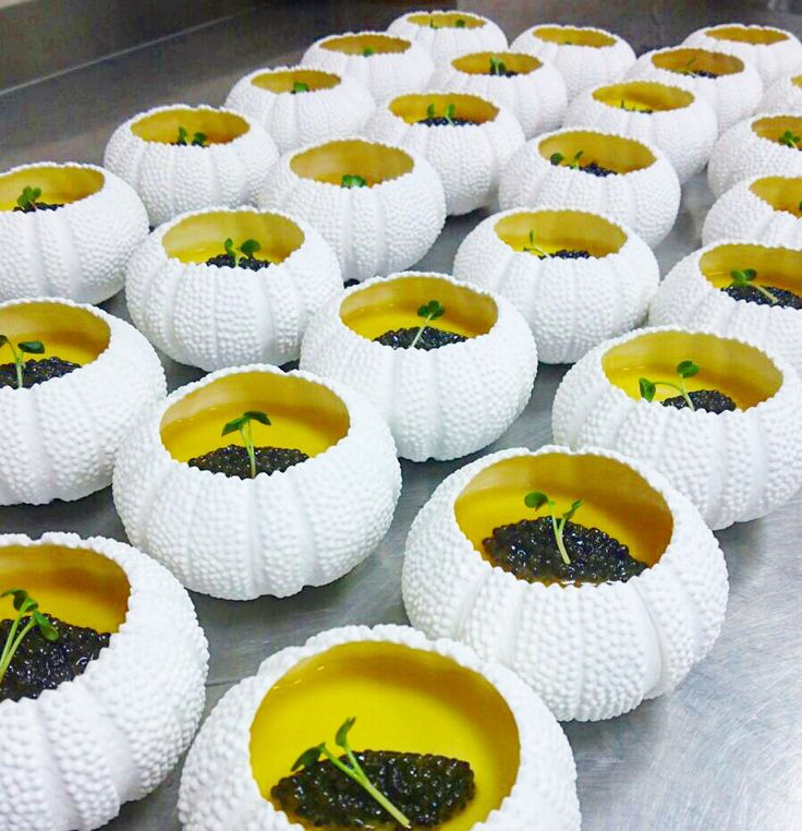 King crab , Abalon , Sturgeon caviar