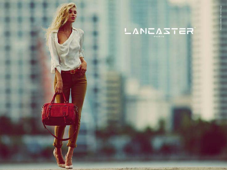 Lancaster sac swann rouge