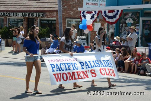 july 4th parade pacific palisades