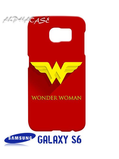 Wonder Woman Superhero Samsung Galaxy S6 Case