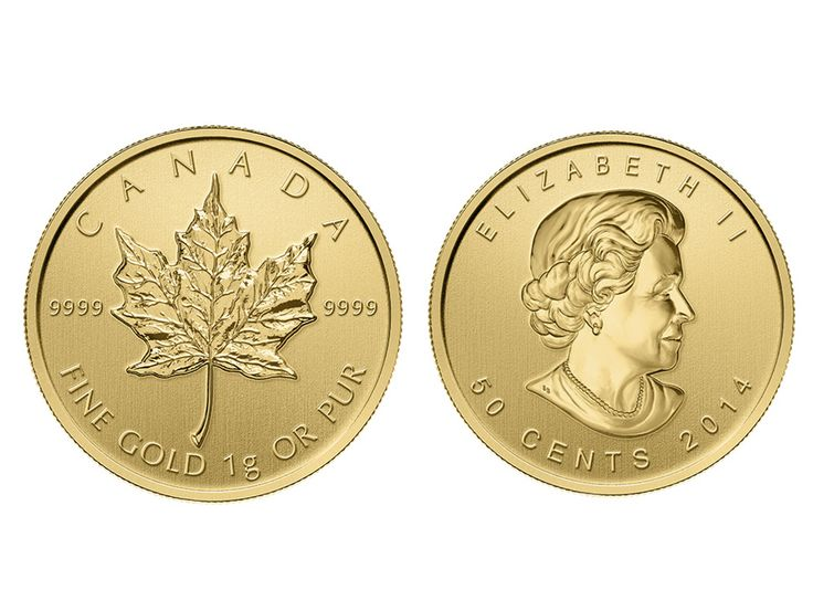 As a favourite amongst the investment coin collection, Royal Canadian Mint has introduced the 2014 25 x 1 gram Canadian Gold MapleGram which features the iconic maple leaf design in a unique format.  Each MapleGram set comes encased in an RCM blister pack which includes 25 individual 1 gram coins. Each  of the individual coins has been struck in .9999 pure gold and are also encased in a uniquely serial numbered assay card. #abcbullion #gold #minted #coin #canadian #maple #pallion