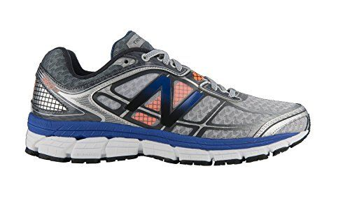 New Balance M860 D V5, Herren Laufschuhe, Silber (SB5 SILVER/BLUE), EU 45.5 (US 11.5/UK 11) - http://on-line-kaufen.de/new-balance/45-5-eu-11-uk-11-5-us-new-balance-m860-d-v5-herren