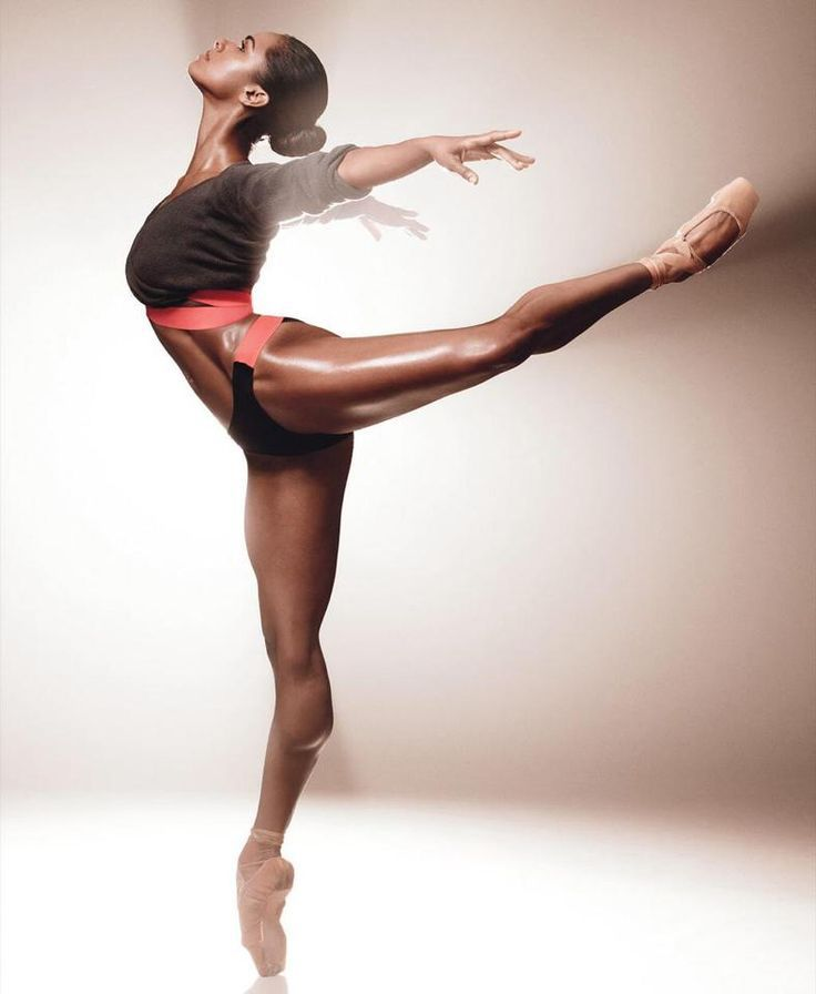 Misty Copeland (American Ballet Theatre) for SELF Magazine