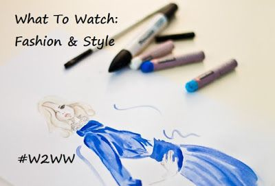 Cathy Thinking Out Loud: Streaming #Fashion in #Style #WhatToWatch #W2WW @N...
