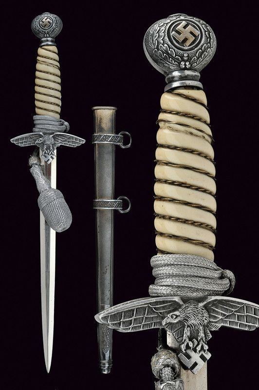 A Second Model Luftwaffe officer's dagger   provenance:Germany dating: second quarter of the 20th century.