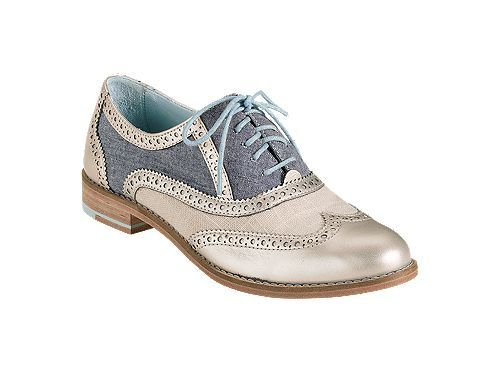 Wing tip, Brogue or Oxford shoes will provide the elegance and style that ppl who pay attention to their footwear seek of. Now here's Cole Haan with a modern twist to the classic Oxfords. For women and men.