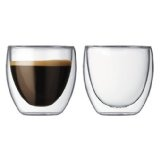 Bodum Pavina 2.5-Ounce Double-Wall Thermo Glasses (Espresso/Shot), Set of 2 (Kitchen)By Bodum