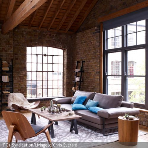 63 best Wohnen im Industrie-Stil images on Pinterest Apartments - industrial chic wohnzimmer