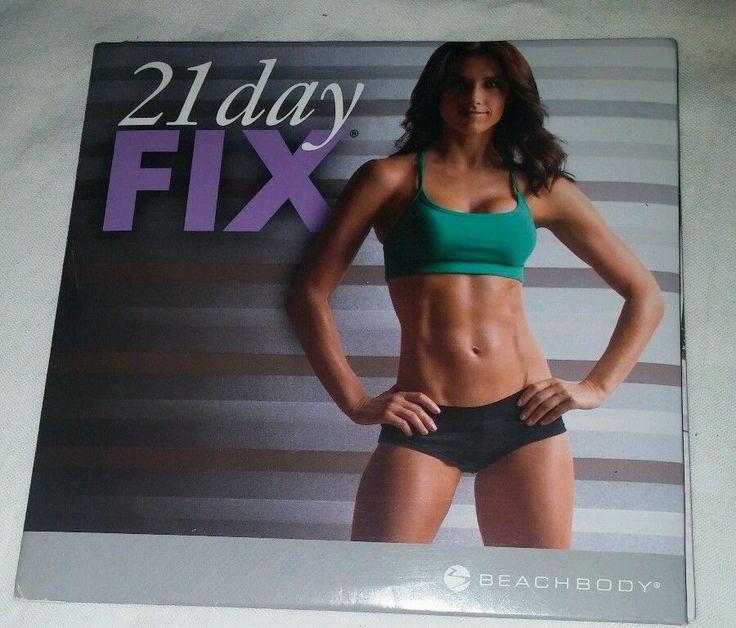 EUC 21 Day Fix Full Workout 2 DVD Set (No Eating Plan No Containers) Beachbody #Beachbody