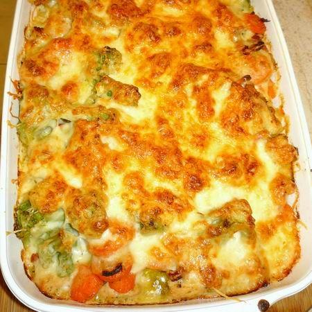 Tésztával sült zöldséges csirkemell Recept képekkel -   Mindmegette.hu…
