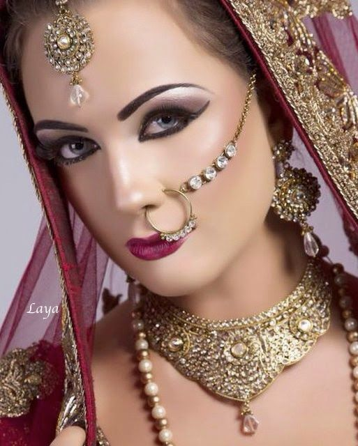 new bridal jhumka and nose ring 2015 | Bridal nosering ...