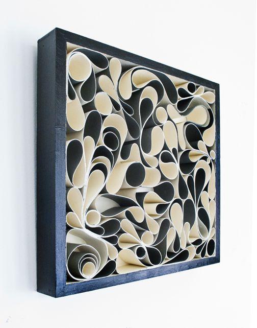 Canvas and acrylic sculpture. Artists: Jason Hallman + Stephen Stum