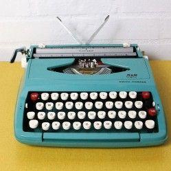 Vintage portable typewriter from vintageactually.co.uk Award winning vintage homestore