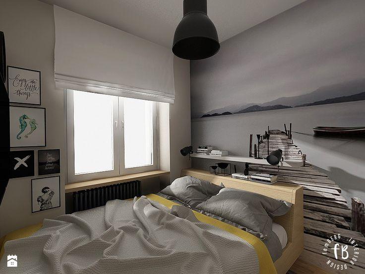 Przytulna sypialnia - zdjęcie od Femberg Architektura Wnętrz - Sypialnia - Styl Minimalistyczny - Femberg Architektura Wnętrz