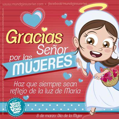 Jesús Vive® – Feliz día de la Mujer