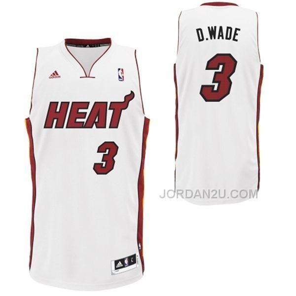 4f3316892dd0 ... usa buy dwyane wade miami heat nickname d.wade swingman white jersey on  sale from