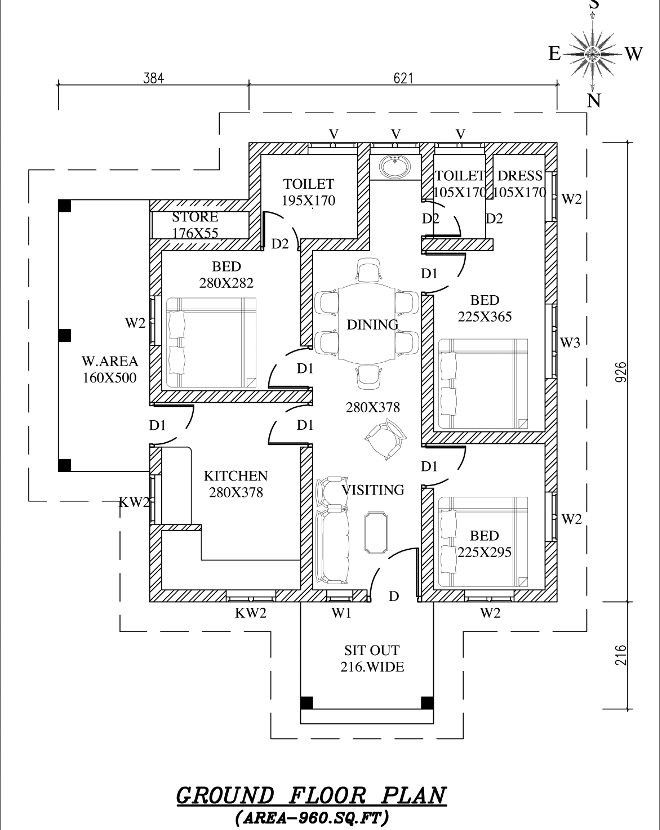 Low Cost Per Square Foot House Plans 2021 Toilet