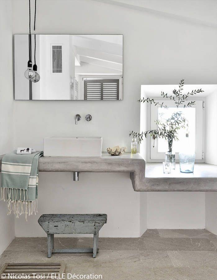 les 25 meilleures id es concernant salle de bains moderne rustique sur pinterest salles de. Black Bedroom Furniture Sets. Home Design Ideas
