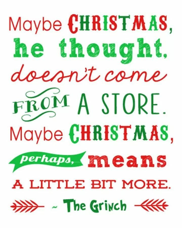How The Grinch Stole Christmas Quotes.Christmas The Grinch Inspiring Quotes Grinch Christmas