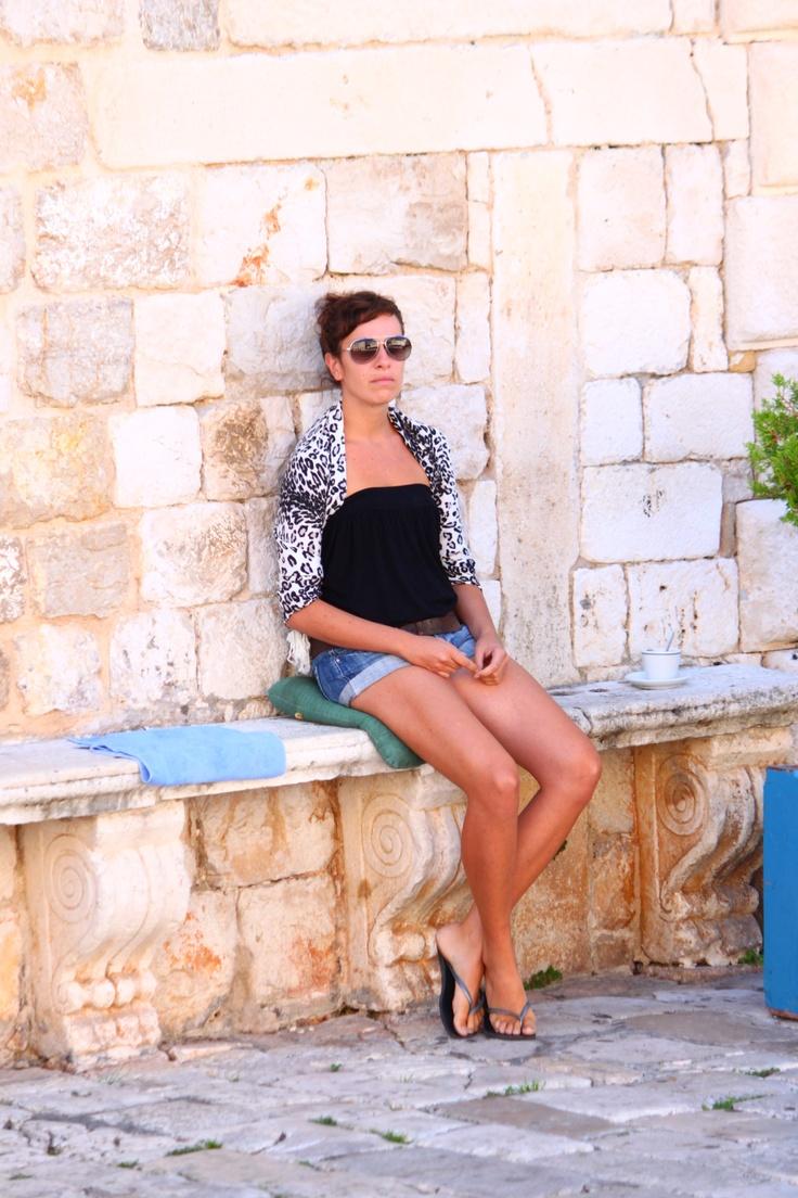 Girl in Croatia II