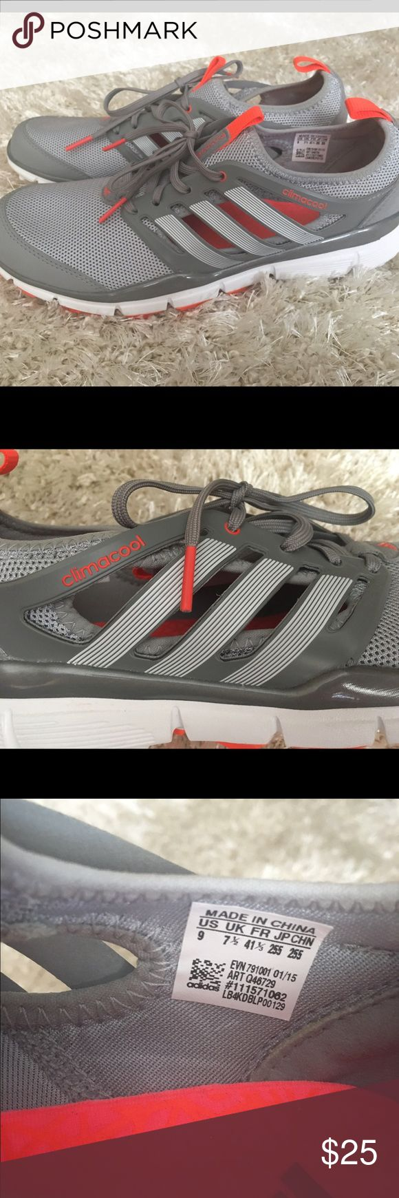 ADIDAS CLIMACOOL GOLF SHOES Only worn once!!! Super comfy, breathable ladies golf shoes. Perfect condition! Size 9, I normally wear an 8.5 to 9 and these fit me perfectly but I don't golf so they are just taking up space. Adidas Shoes Athletic Shoes