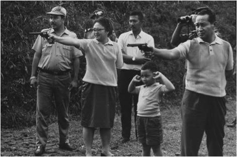 Indonesian dictator-megalomaniac family