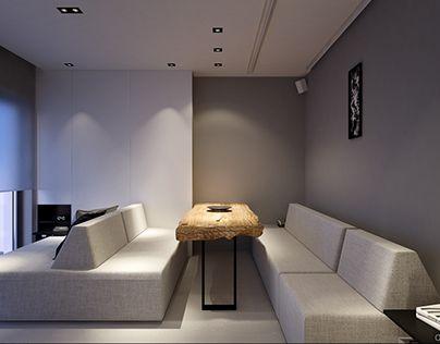 "Check out new work on my @Behance portfolio: ""Apartament in Warsaw 37 sqm""…"