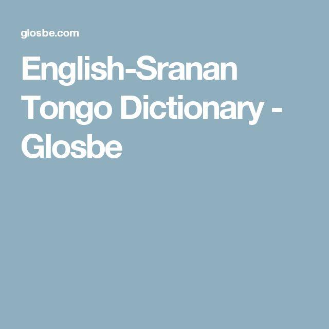 English-Sranan Tongo Dictionary - Glosbe