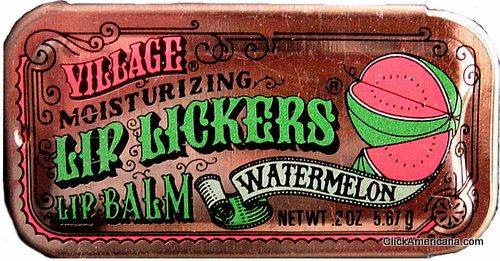 Vintage Lip Lickers flavored lip glosses ('70s