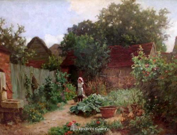 Charles Haigh-Wood, In the Garden