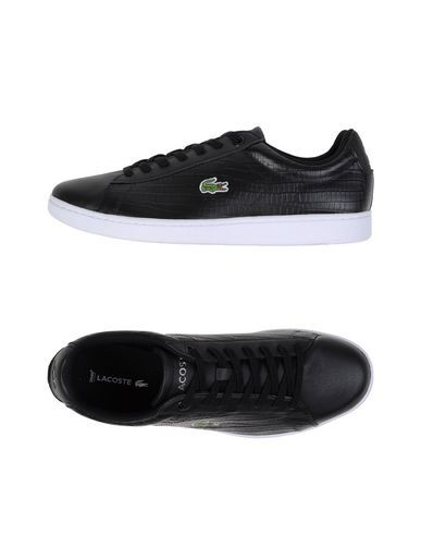 #Lacoste sneakers and tennis shoes basse uomo Nero  ad Euro 109.00 in #Lacoste #Uomo calzature sneakers