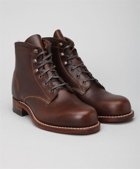Wolverine 1000 Mile Boot Brown women size skor – Skor online - Lester Skor Online