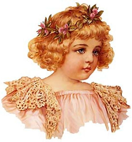 BroWN EYeD BeauTieS ShaBby WaTerSLiDe DeCALs #2 ~VinTaGe CHiLdReN~