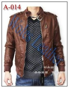 Jaket Kulit Model Korea; Kode: A-014