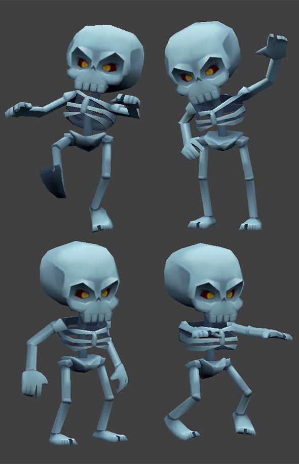 33++ Character skeleton information