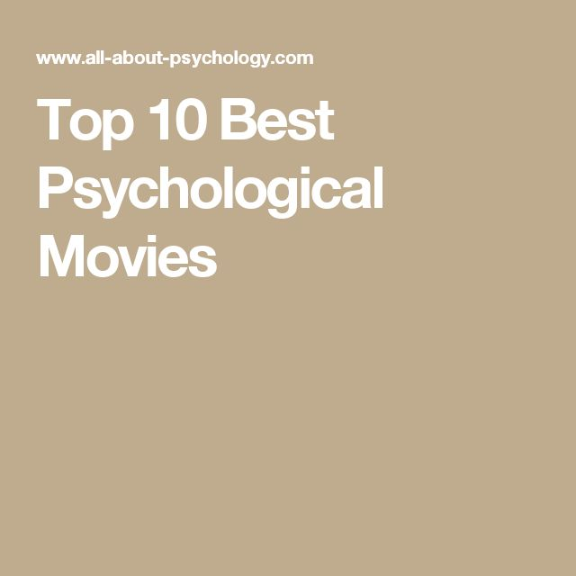 Top 10 Best Psychological Movies