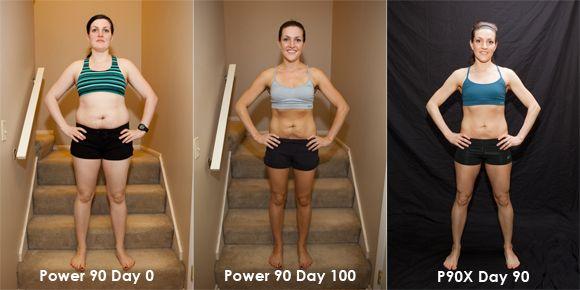 Women P90X results