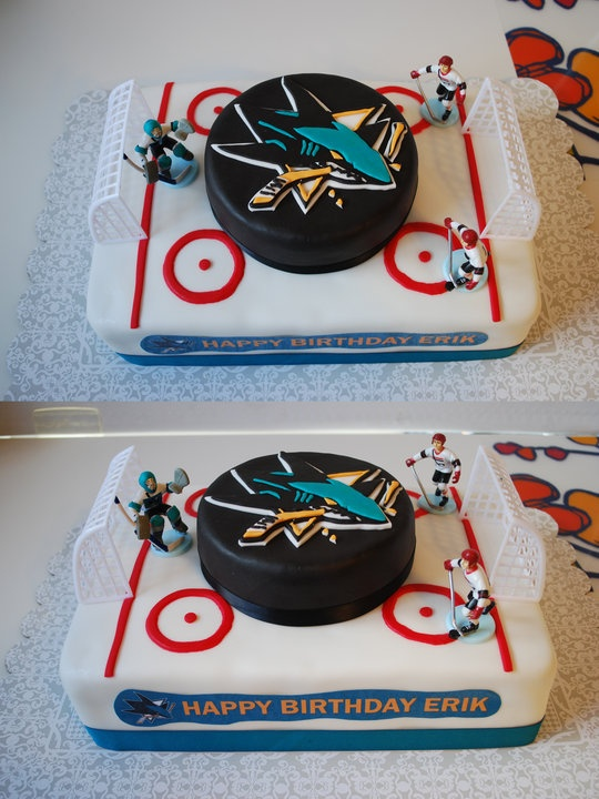 ...  Hockey birthday cake, Hockey birthday and Dad birthday cakes
