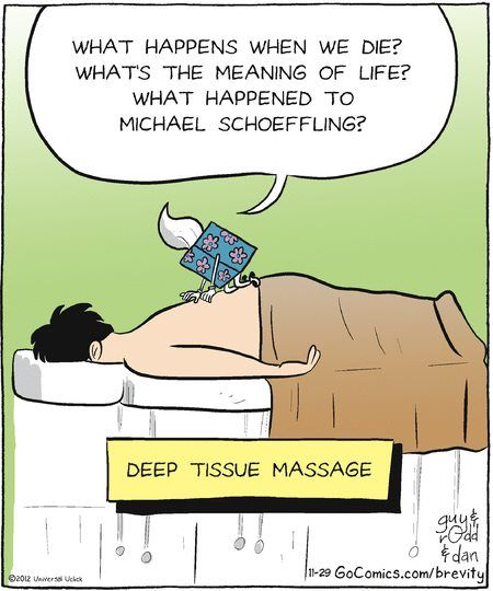 Deep Tissue Massage. What did happen to Michael Schoeffling