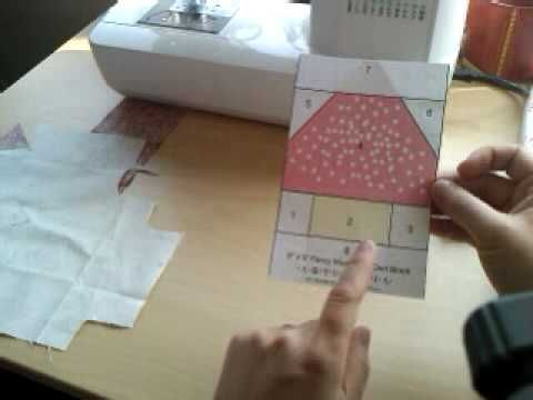 Tutorial - Paper piecing, Explaining the process This is great!!!
