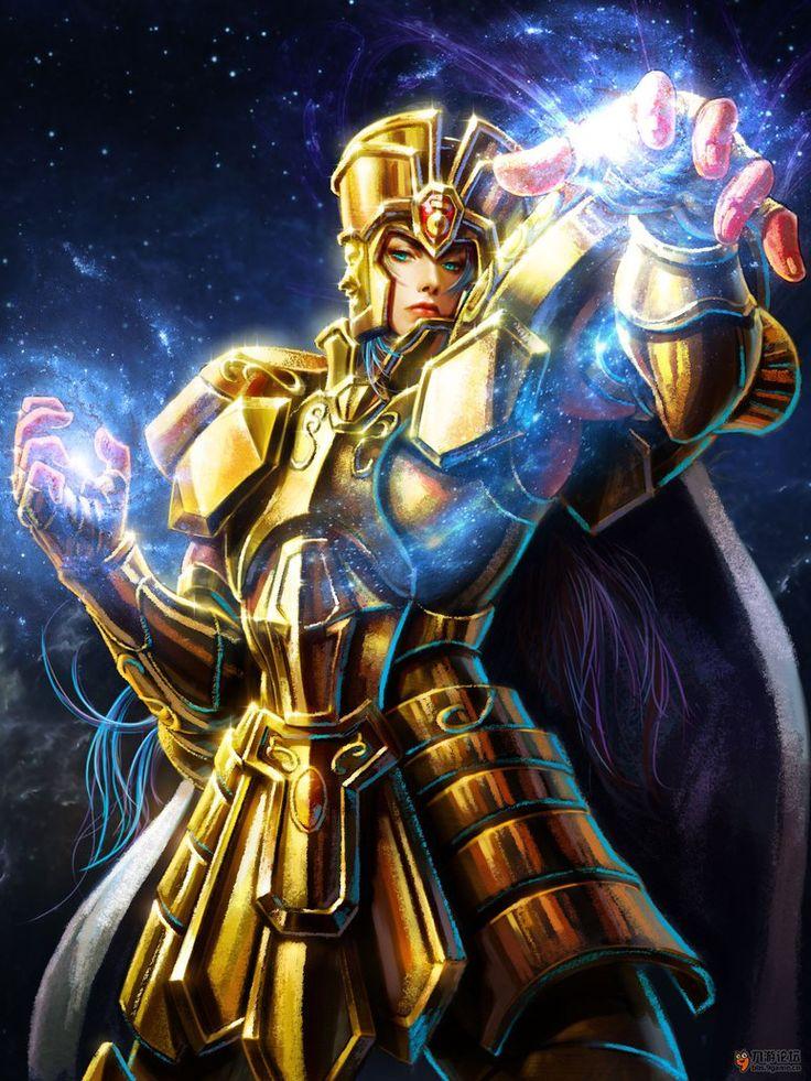 Cavaleiro de Ouro - Saga de Gemeos by SONICX2011 on DeviantArt