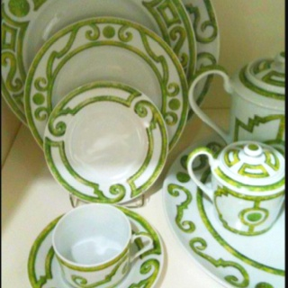 46 best images about haviland china on pinterest fine for Jardin francais