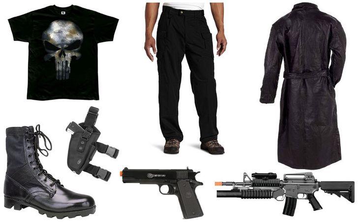 The Punisher Costume
