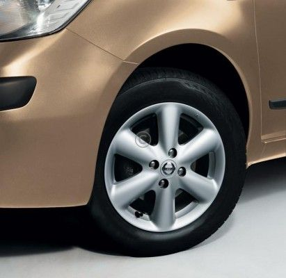 "Nissan Note (E11E) Alloy Wheels 15"" Malachite - D03009U01B"