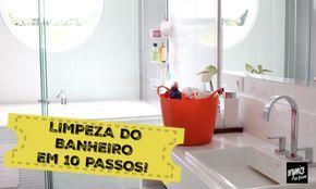 Nada como um banheiro limpinho, não é verdade? No vídeo, Rafaela Oliveira mostra 10 passos para você limpar e manter-lo limpo e perfumado sempre!